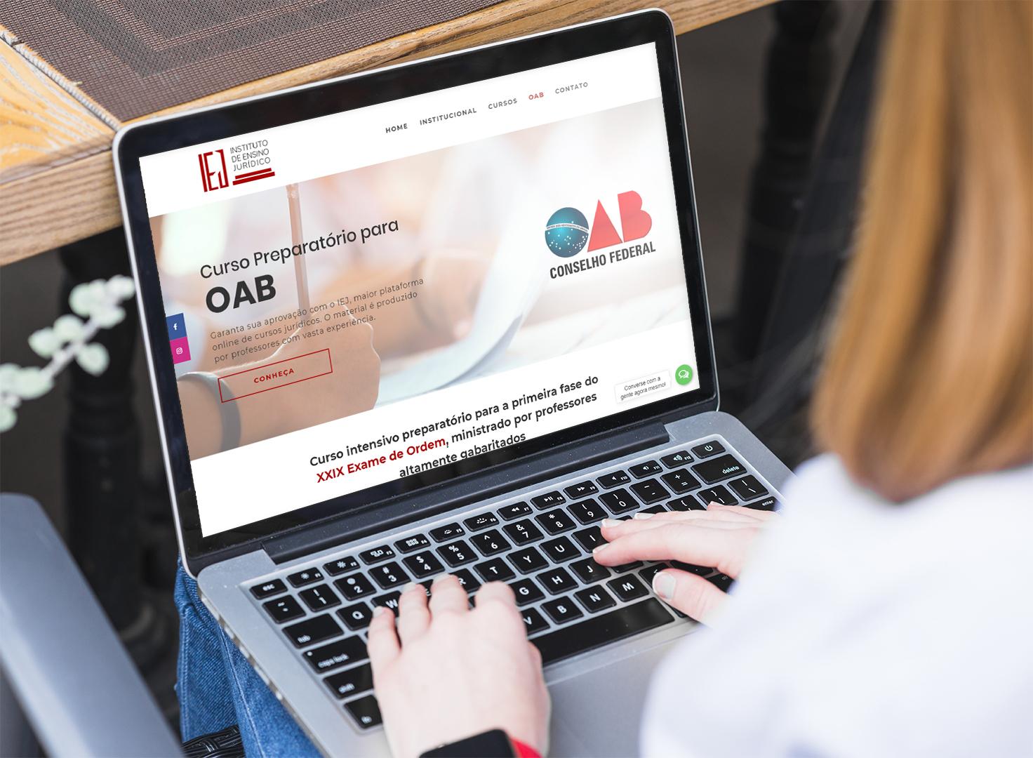 agencia de marketing digital desenvolve landing page